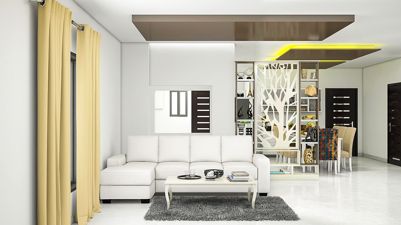 Interior design for 3 bhk home - 2bhk Interiors
